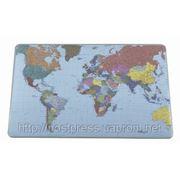 Настольное покрытие с картой мира фото