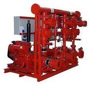 Станции стандарта UNI-EN 12845 для противопожарных систем Calpeda — AUE, AUD, AUED фото