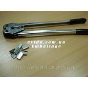 Скрепляющее устройство (клещи) 16 мм для лент ПЭТ фото
