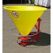 Разбрасыватель минеральных удобрений Jar-Met 500 кг. фото