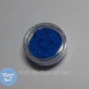 Краситель пищевой Цветочная пыльца Генциановый синий, код 35 фото