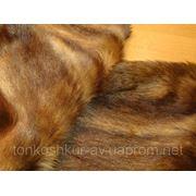 Мех одёжный светло-коричневая козочка фото