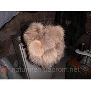 Бубоны из енота натуральный мех фото