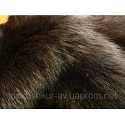 Мех натуральный Енот полоскун серый фото
