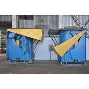 Плавильных агрегата два 8-ми тонных плавильных агрегата (Inductotherm USA) предназначенных для плавки чугуна (температура 14300С). фото