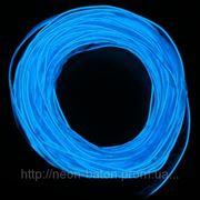 Холодный неон с кантом 2-го поколения 2,2 мм, синий (розница, опт) фото