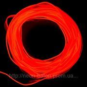 Холодный неон с кантом 2-го поколения 2,2 мм, красный (розница, опт) фото