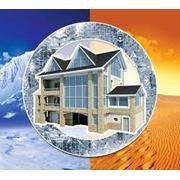Теплоизоляционные штукатурные смеси. Теплоизоляция домов фото