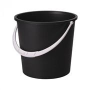Ведро 5л. (2 сорт)(чёрный) без крышки фото