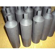 Тигли из графита ГСП (графиты на пироуглеродной связке) для выращивания монокристаллов ювелирной отрасли машиностроения цветной металлургии и т.д. прочность графитов ГСП составляет 100-400 МПа ( прочность у МПГ-7 — 70 МПа) срок службы на 20-400% выше фото