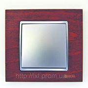 Розетки и выключатели Испания премиум Simon (красное дерево) фото