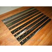 Изготовим ножи для гильотинных ножниц рубильных машин фото
