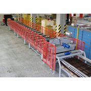 Линия для производства металлочерепицы.профилей. фото