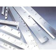 Новые плоские ножи к бумагорезательным, лущильным, дробильным, листогибочным и др машинам. фото