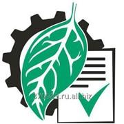 Постановка на учет объектов негативного воздействия (Постановка на экологический учет) фото