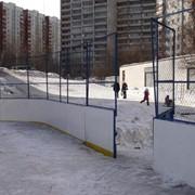 Хоккейные борта для хоккейной коробки фото