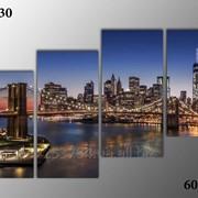 Картина модульная М-130, размер 60х120 фото