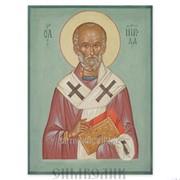Икона свт. Николай Чудотворец Артикул: 001002ид9002 фото