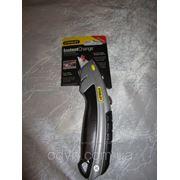 Нож Стенли з висувним лезом фото