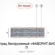 Матрац беспружинный Фаворит-Био П 190х70 фото