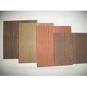 Профиль фасадный из древесно-полимерного композита фото