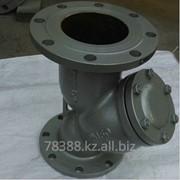 Фильтр сетчатый фланцевый чугунный GL41H-16 (РУ-16), Ду 80 мм, Масса 19,8 кг, Длинна 320 мм фото