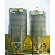 Бункер для хранения корма, вместимостью 10,0тн. фото
