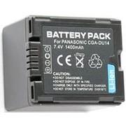 Аккумулятор для видеокамер Panasonic CGA-DU14 фото