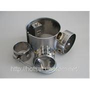 Кольцевой нагреватель со слюдяной изоляцией, D=80х30 мм, 300W, 230V, штепсель М08 фото
