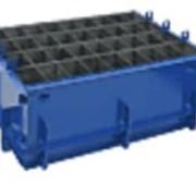 Форма металлическая для производства блоков Люкс-3 фото