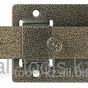 Задвижка накладная ЗД-02для дверей усиленная, порошковое покрытие, цвет серебро, плоский засов 30х135х7мм Код:37776-2 фото