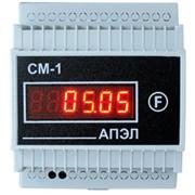 Счетчик моточасов СМ-1 в корпусе DIN фото