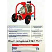 Доильный аппарат с вакуумным насосом HB. фото