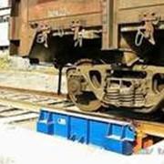 Весы вагонные для взвешивания в движении ВЭТ-30ВДО фото