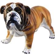 Скульптура Английский бульдог/ Собака арт.CB-377 Boxer фото