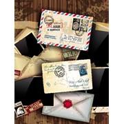 """Пакет подарочный ламинированный """"Письма"""", 18х10х23см, (MILAND) фото"""