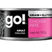 GO! 100г Влажный беззерновой корм для взрослых кошек Курица фото