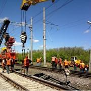 Текущее содержание железнодорожных путей и стрелочных переводов фото