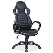 Кресло компьютерное Signal Q-105 (черно-серый) фото