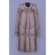 Изделия из натурального меха. Пальто из норки фото