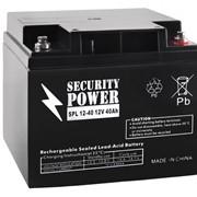 Аккумуляторная батарея Security Power 12V/40Ah фото