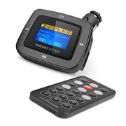 1100 Dark Iron Energy Car MP3 Energy Sistem FM-модулятор, Чёрный фото