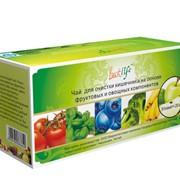 Чай очищающий кишечник на основе фруктовых и овощных компонентов, Код B009 фото