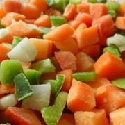 Смесь «Для плова » из быстрозамороженных овощей фото