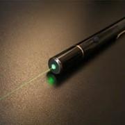 Лазер зеленый фото