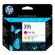 Картридж HP - CE018A (HP 771) Printhead, Magenta, Yellow фото