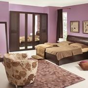 Спальный гарнитур Парма СК1 фото