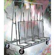 Пирамида для готовых изделий передвижная (средняя) Модель П-10 фото