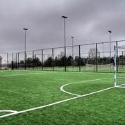 Строительство спортивной площадки фото