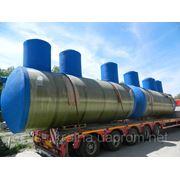 Станции очистки ливневых сточных вод ЛОС-СП из стеклопластика фото